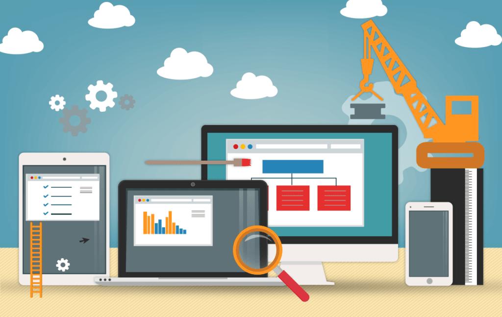 5 Vantagens de usar um Construtor de Sites